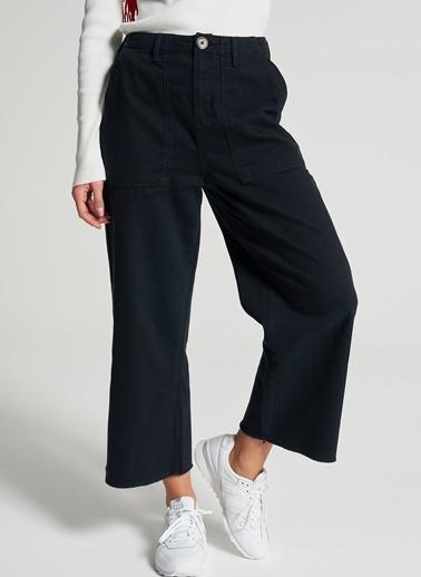 Pi π Crop Pantolon Lacivert